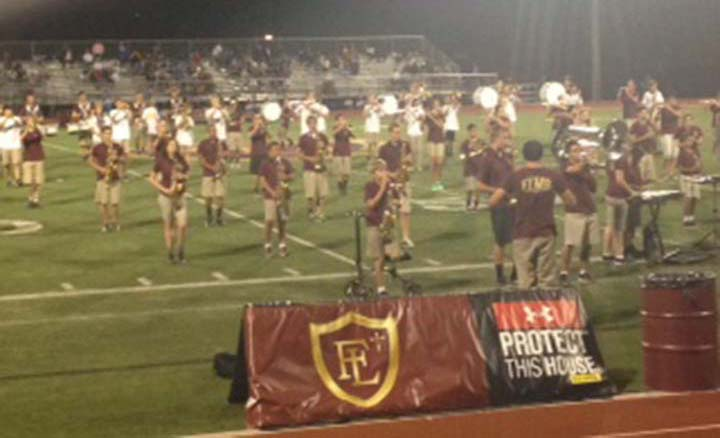 This year, the middle school Marching Band has been proforming throughout the school year. One proformance to remember was at the Homecoming football game.​​
