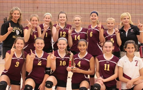 Hit, Set, Spike:   The middle school girl's volleyball season begins