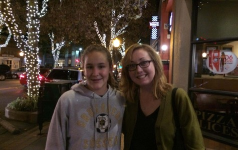 During her weekend getaway to Stanford, Mesalic enjoyed spending time with her  professor, Dr. Hayes. They talked about the level of Mesalic's courses and how they will help advance the likelihood of getting accepted into Stanford.
