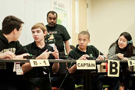 Science Bowl team prepares to compete in the Nevada Regional Competition