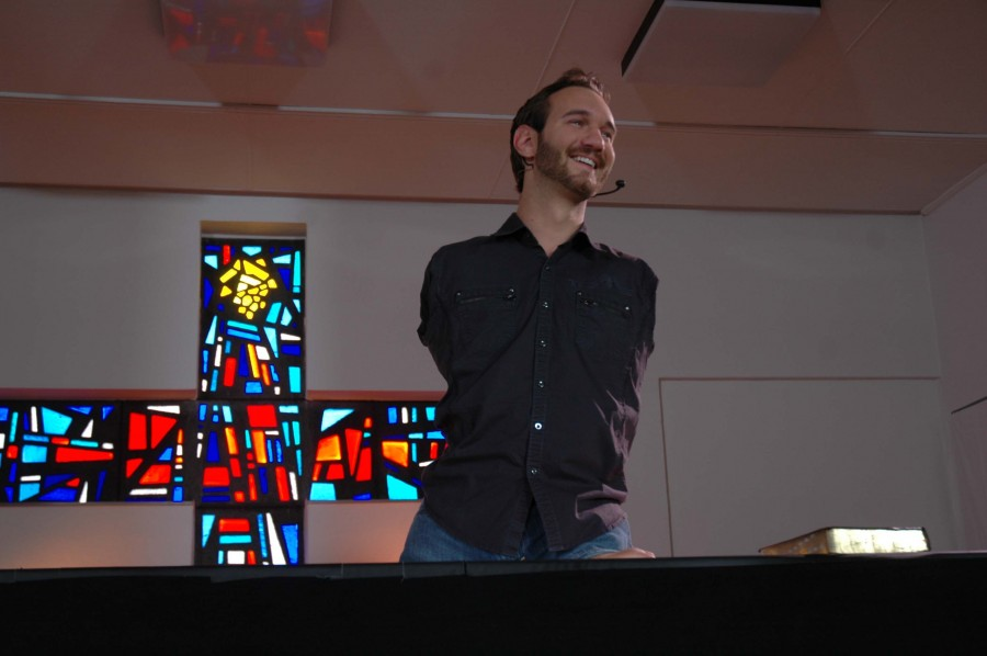In+2011%2C+Vujicic+went+to+multiple+churches+in+Germany+to+speak+of+his+story+and+faith+in+God.+To+see+a+list+of+dates+and+times++when+Vujicic+speaks+to+others+about+his+story+around+the+world%2C+go+to+his+website+www.lifewithoutlimbs.org
