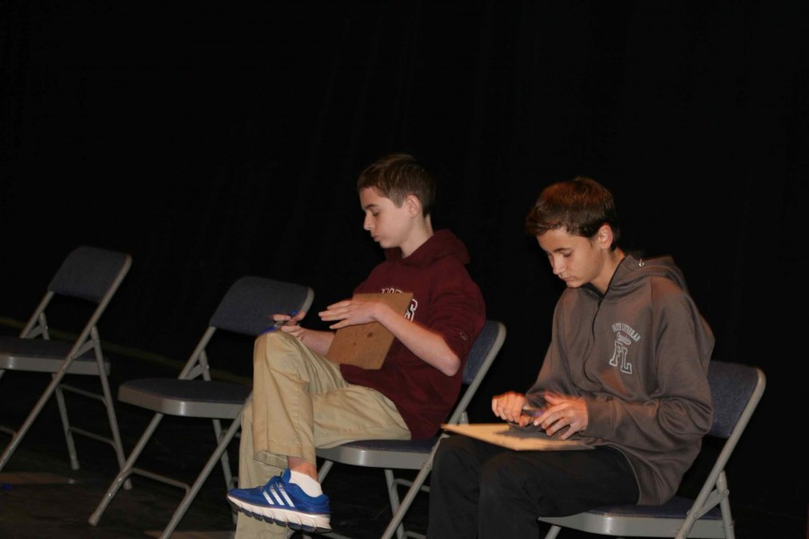 Owen Thompson and Grant Wrich competed in the  final round of the Geography Bee school event. Thompson won the  final competition by defeating the other school  finalists.