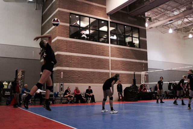 Eighth grader Hanna Karl competes in a tournament in Tucson, Arizona for club. Student athletes have to learn how to balance both school and sports.