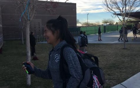 Emily Fung runs, in training for the speed she needs to excel in the sport of pole vault. Pole vault is extremely dangerous, and in order to practice the sport, Fung had to sign a death waiver.